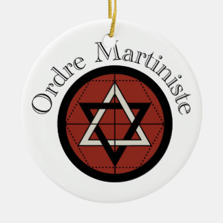 Ordre Mariniste Ceramic Ornament