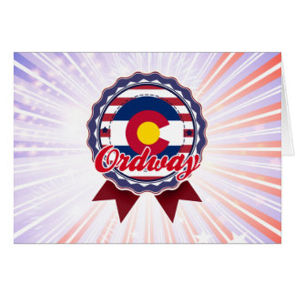 Ordway, CO Greeting Card