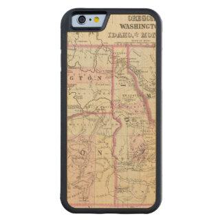 Ore, Wash, Ida, Mont Carved® Maple iPhone 6 Bumper Case