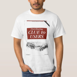 O'Really - Distributing Clue to Users T-shirts