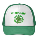 O'Really, Irish surname Hat
