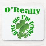 O'Really, Irish surname Mousepads
