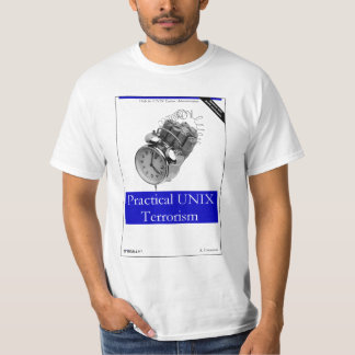 O'Really - terrorismo práctico de UNIX Camisas