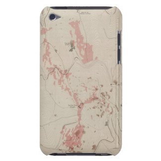 OreBodies and Topography of MineHill, New Almaden Case-Mate iPod Touch Case