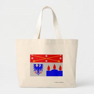 Örebro län flag canvas bags