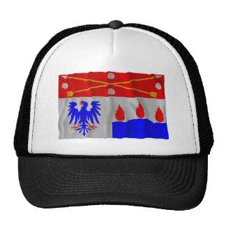 Örebro län waving flag mesh hat