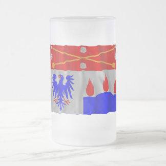 Örebro län waving flag coffee mugs