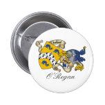 O'Regan Family Crest Pin