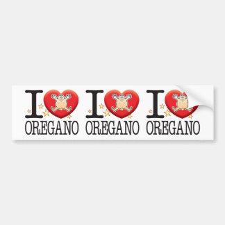 Oregano Love Man Bumper Sticker