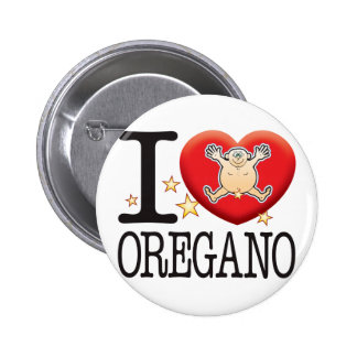Oregano Love Man Pinback Button
