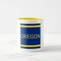 Oregon 11 oz Ringer Mug