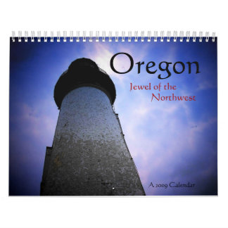 Oregon 2009 Calendar