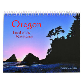 Oregon 2011 Calendar
