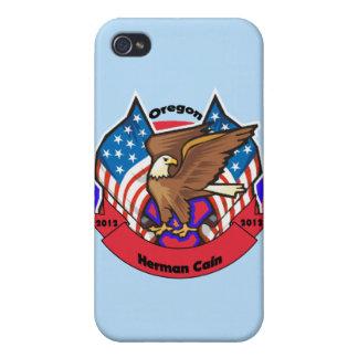 Oregon 2012 para Herman Caín iPhone 4/4S Carcasas