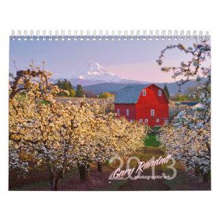 Oregon 2013 Calendar