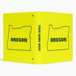 Oregon 3 Ring Binder