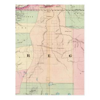 Oregon 3 tarjetas postales
