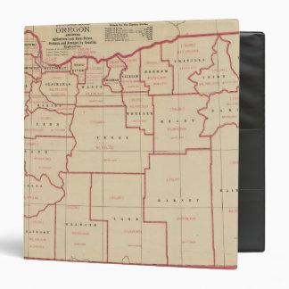 Oregon agric, farm values, products, acreages binder