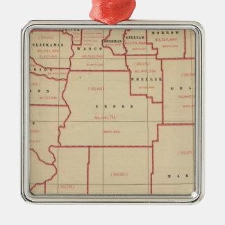 Oregon agric, farm values, products, acreages metal ornament