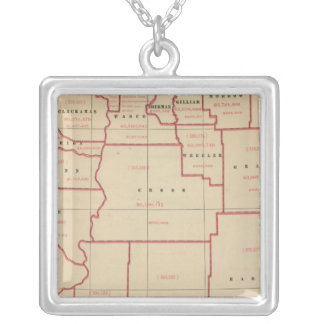 Oregon agric, farm values, products, acreages silver plated necklace