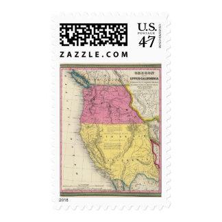 Oregon and Upper California Postage