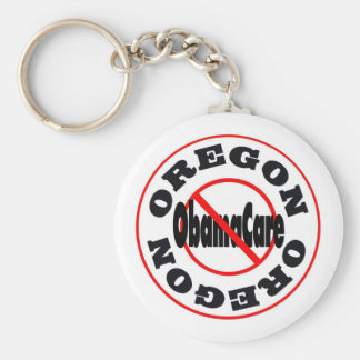 Oregon Anti ObamaCare – November's Coming! Keychain