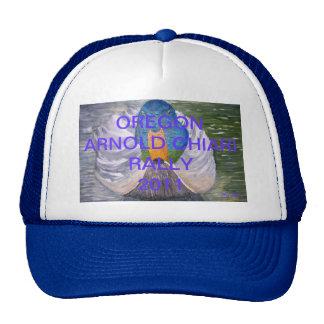 OREGON ARNOLD CHIARI RALLY2011 TRUCKER HAT