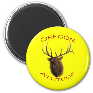 Oregon Attitude 2 Inch Round Magnet
