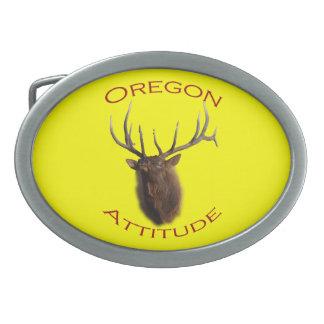 Oregon Attitude Belt Buckle