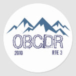 Oregon Back Country Discovery Route Sticker