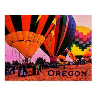 Oregon Balloon Postcard