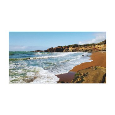 Beach Themed Oregon Beach Canvas Print