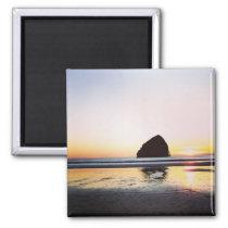 Oregon beach magnet
