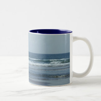 Oregon Beach Two-Tone Coffee Mug