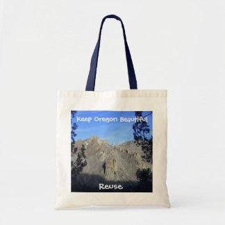 Oregon Beautiful Reuseable Tote Canvas Bag