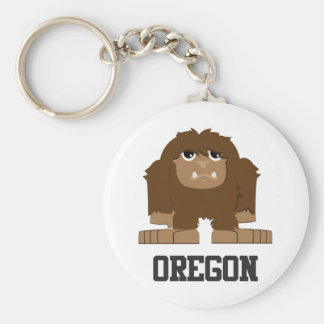 Oregon Bigfoot Keychain
