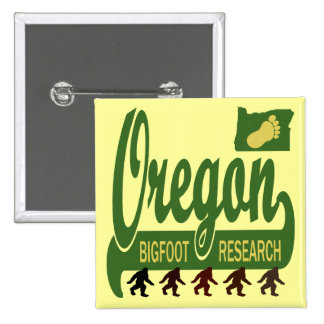 Oregon Bigfoot Research Buttons