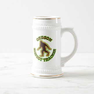 Oregon Bigfoot Tracker Beer Stein