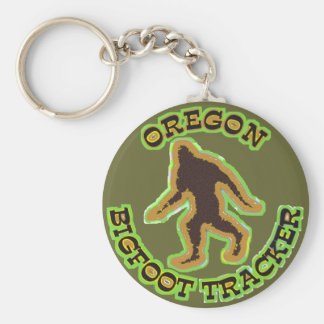 Oregon Bigfoot Tracker Keychain