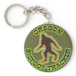 Oregon Bigfoot Tracker Keychains