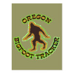 Oregon Bigfoot Tracker Postcard