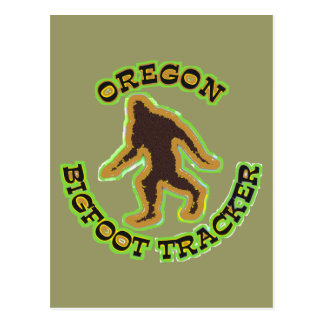 Oregon Bigfoot Tracker Postcard