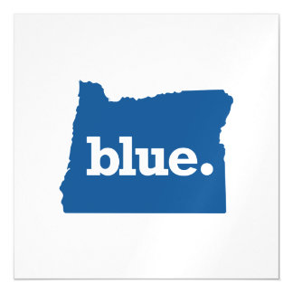 OREGON BLUE STATE MAGNETIC CARD