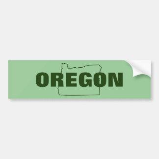 Oregon Pegatina Para Auto
