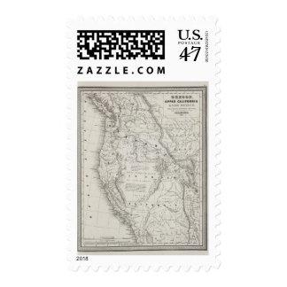 Oregon, California superior y New México 2 Sellos