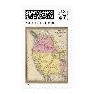 Oregon, California superior y New México Sello Postal