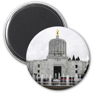 Oregon Capitol 2 Inch Round Magnet