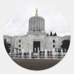 Oregon Capitol Classic Round Sticker