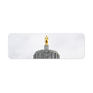 Oregon Capitol Custom Return Address Label