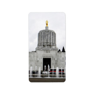 Oregon Capitol Label